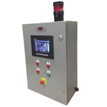Temperature controller with LCD display / PID / industrial / panel-mount