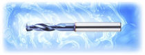 Solid drill bit / for steel / carbide / helical