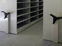 Office shelving / for medium loads / archival / compact