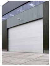 Sectional doors / hangar / industrial / fireproof