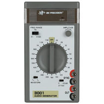 Audio signal generator / compact / portable / low-distortion