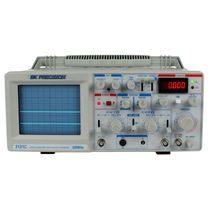 Analog oscilloscope / bench-top / 2-channel / single-channel