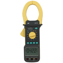True RMS clamp multimeter / digital / portable / current