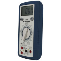 Multimeter with manual range selection / digital / portable / voltage