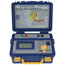 Milliohmmeter / digital / portable / 4-wire