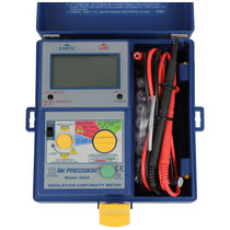Voltage impulse insulation tester / insulation resistance / continuity / for electrical installations