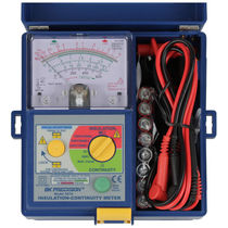 Continuity tester / voltage impulse insulation / insulation resistance / leakage current