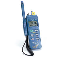 Temperature data-logger / relative humidity / with LCD display / environmental
