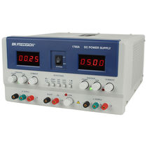 AC/DC power supply / triple-output / digital / tabletop