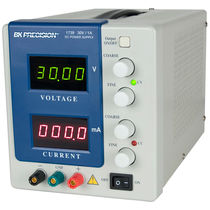 AC/DC power supply / regulated / digital / low-noise level
