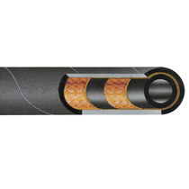 Hydraulic hose / for mineral oil / medium-pressure / agricultural