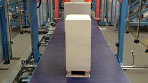 Belt conveyor / pallet / transport / transfer