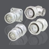 RF connector / coaxial / straight / elbow