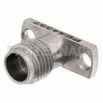 Coaxial connector / circular / female / RF