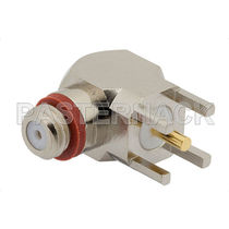Coaxial connector / elbow / female / RF
