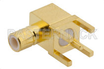 Coaxial connector / elbow / jack / subminiature