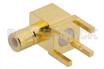 Board connector / coaxial / jack / elbow