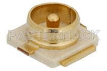 Coaxial connector / circular / jack / RF