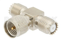 Communication adapter / for coaxial cables / interface / male