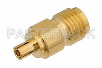 Hydraulic adapter / for coaxial cables