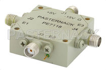 Single-pole switch / electromechanical / RF