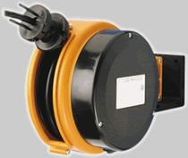 Cable reel / self-retracting / wall-mounted