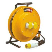 Cable reel / spring / transportable