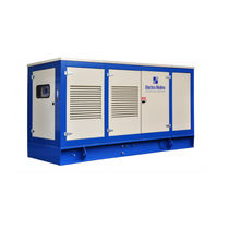 Three-phase generator set / diesel / stationary / air-cooled