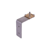 Fastening bracket / 90° / copper / brass