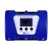 Lightning strike counter / binary / digital / electromagnetic