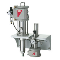 Adhesive pump / pneumatic / reciprocating / with electronic control