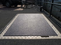 Anti-slip floor covering / custom-made / for high-traffic areas / for tiles