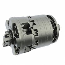 Radial piston hydraulic motor / double-displacement