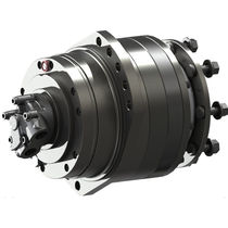Gear hydraulic wheel motor / double-displacement