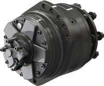 Gear hydraulic wheel motor / variable-displacement