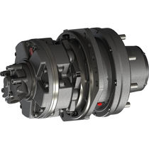 Gear hydraulic wheel motor / fixed-displacement