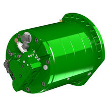 Radial piston hydraulic motor / variable-displacement