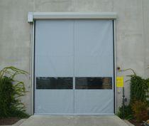 Self-repairing doors / roll-up / metal / stainless steel
