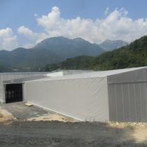 Industrial building / modular / disassemblable