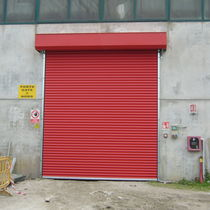 Roll-up shutters / aluminum / indoor / insulated