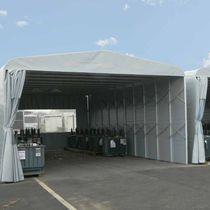 Storage building / modular / disassemblable / aluminum
