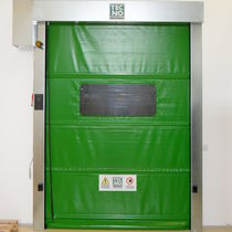 High-speed doors / rolling / fabric / industrial