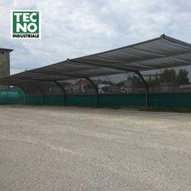 Hail tarp shelter