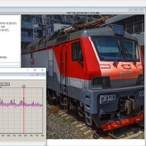 Condition monitoring device / vibration / for bearings / for railway vehicles