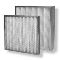 Air filter / wire mesh / pleated / dust