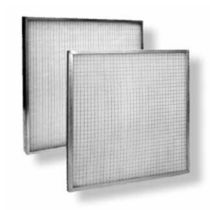 Air filter / wire mesh / separation