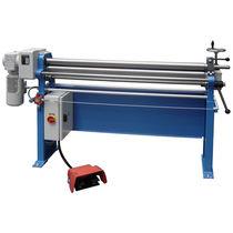 3-roller plate bending machine / manual