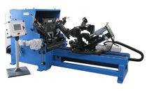 Automatic flanging machine