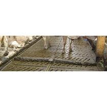 Cleaning scraper / sludge / for floors / metal