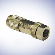 Explosion-proof connector / RF / DIN / circular